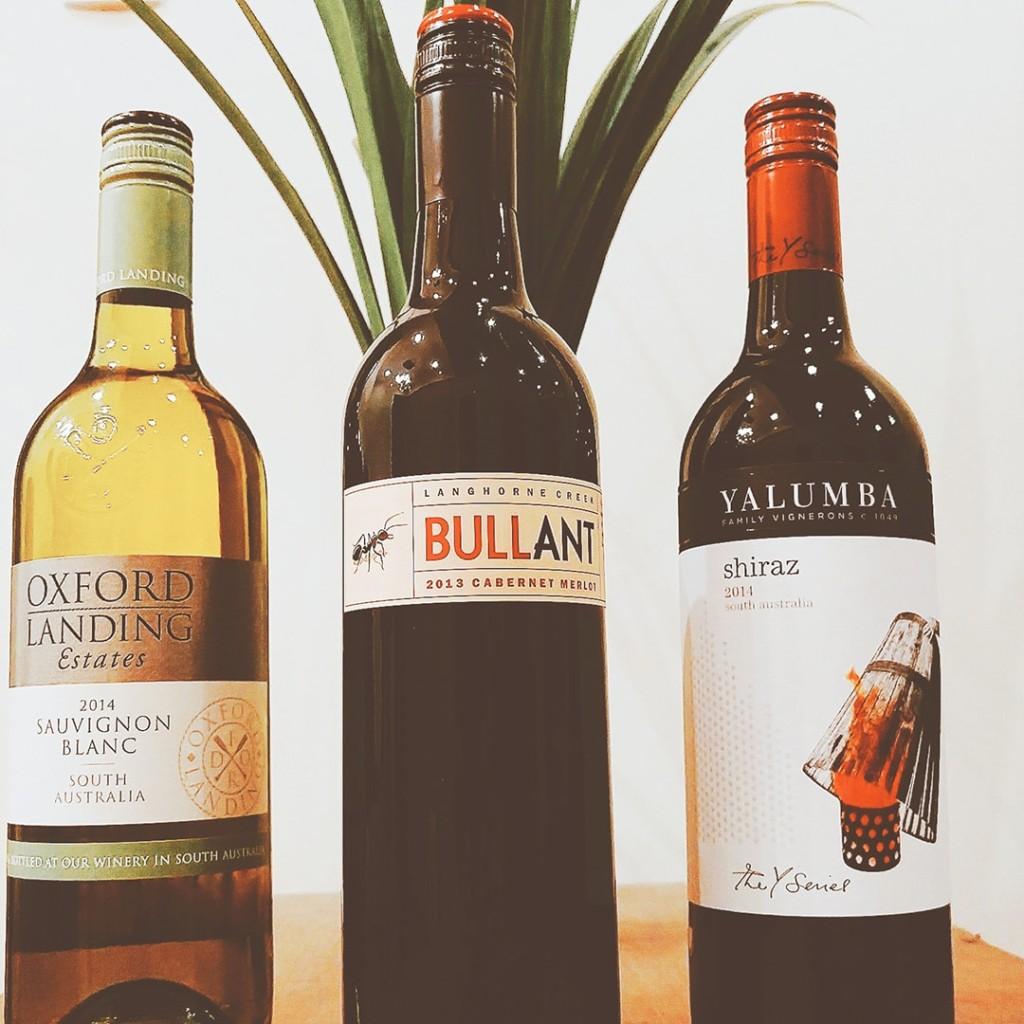Tres vinos australianos - Wine Box Perú