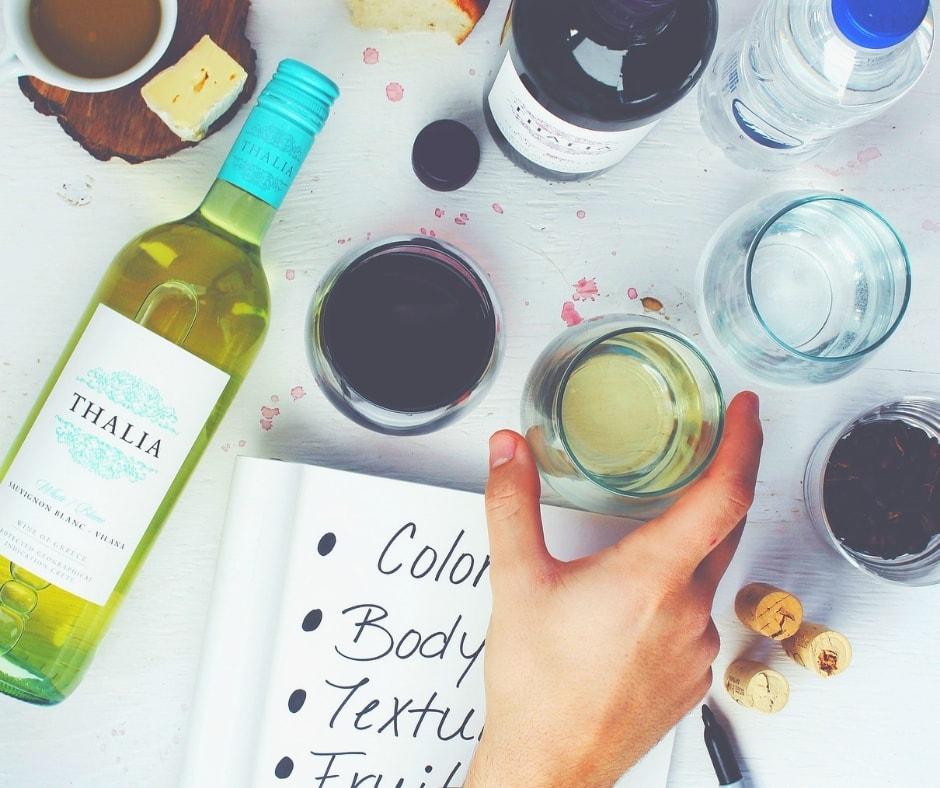 Puntuación de vinos